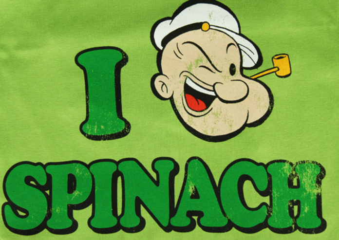 Popeye was spot on about spinach, because it has been found to be full of lutein, which protects the brain from degeneration.
