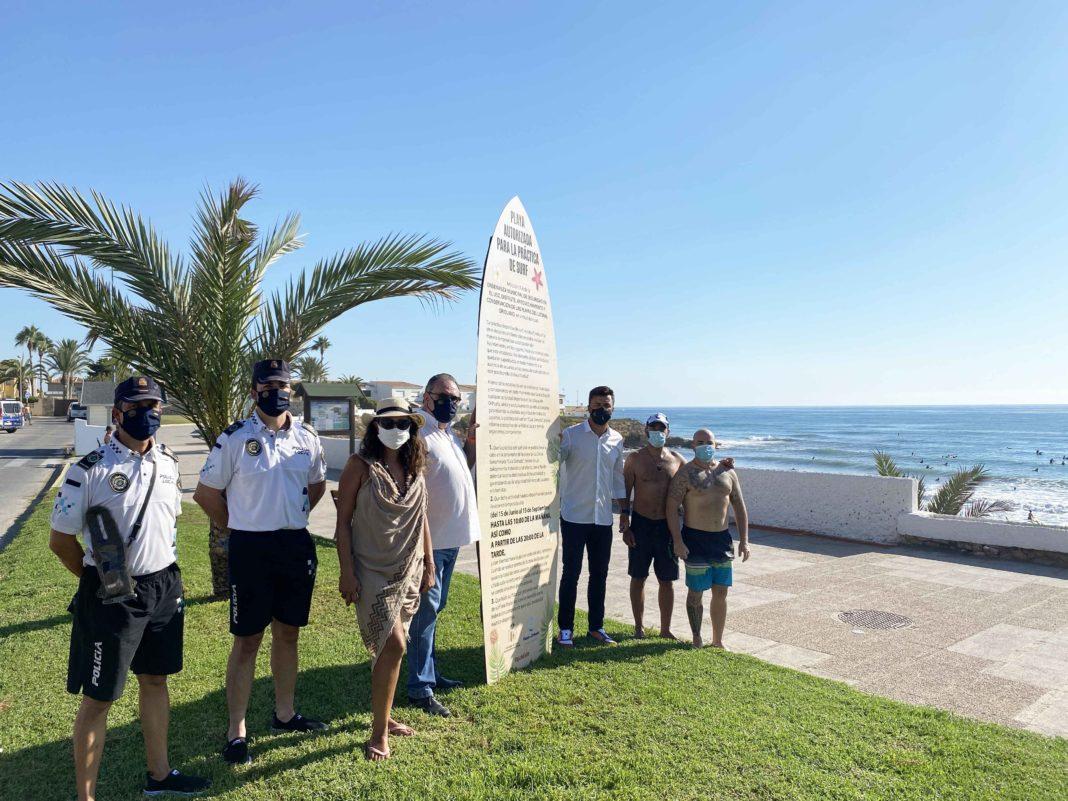 Orihuela designates Cala Cerrada for surfing