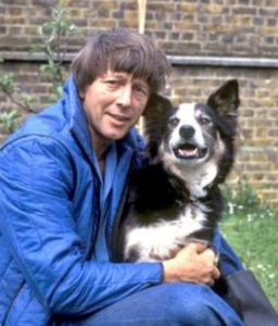 John Noakes: BBC Blue Peter presenter with Shep.