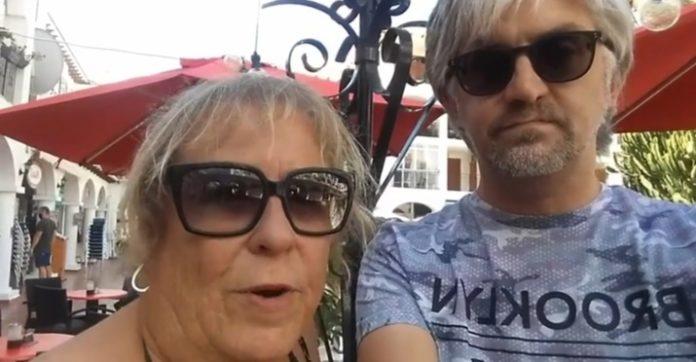 Casey Shaddock (left) President of Villamartin plaza: Striving to get music back.