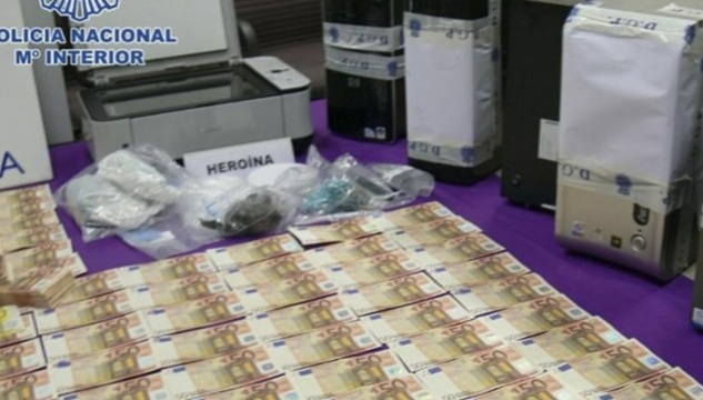 Counterfeit currency found in seven provinces of Spain