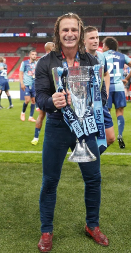 Gareth: Play-off winners Wycombe reach Championship.
