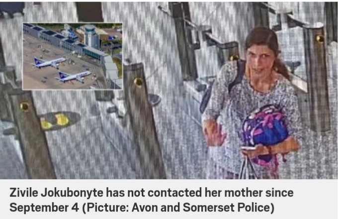 International hunt for missing mother Zivile Jokubonyte and two-year-old son in Spain.