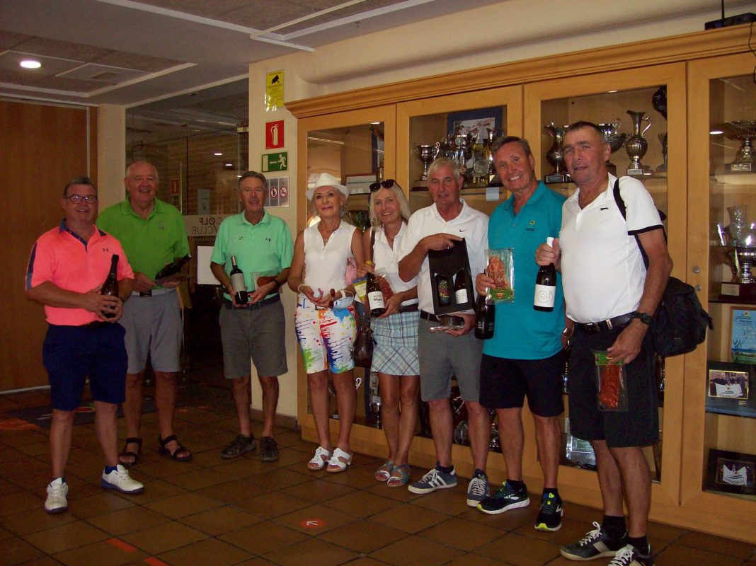 MONTGO GOLF SOCIETY STABLEFORD COMPETITION
