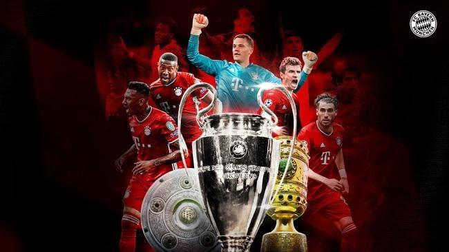 Bayern Munich won the treble: Success in a turbulent season!