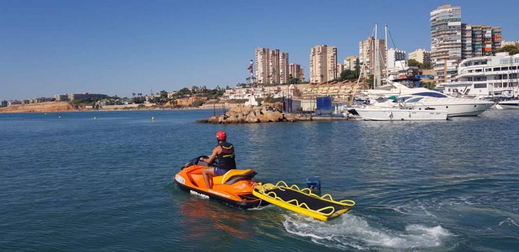 Campoamor beaches being patrolled by Ambumar lifeguards