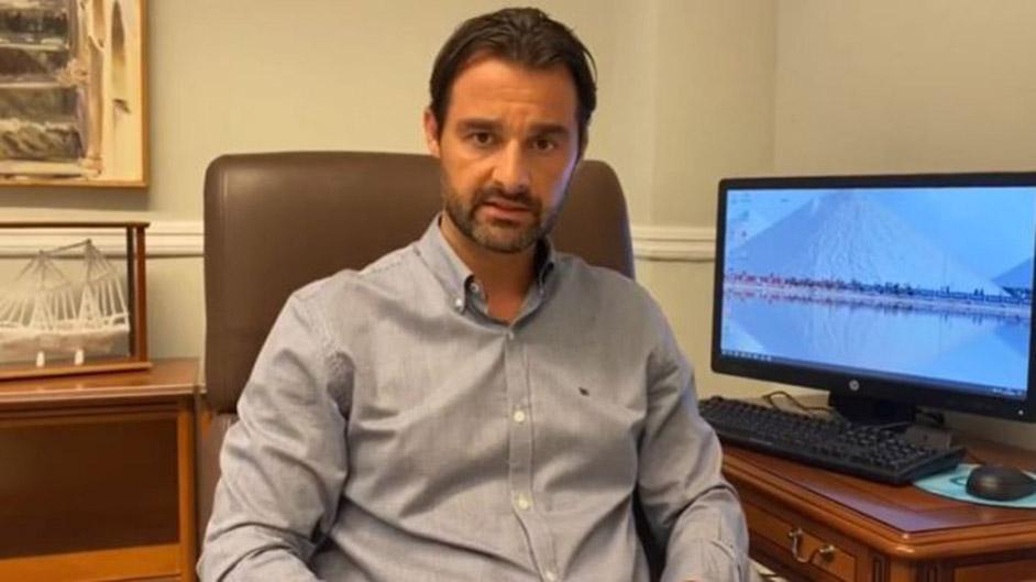 The mayor of Torrevieja, Eduardo Dolón (PP)