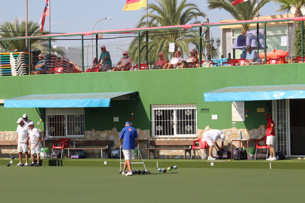 La Marina Bowls Club Hosting Valencian Championships