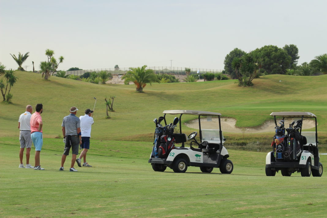 Mike Probert talks Golf - Recovery of the Golf industry in Murcia