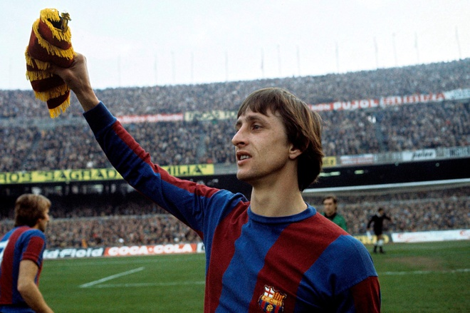 Johan Cruyff is one of the best players in the world of all time/ Ph.vietnam9