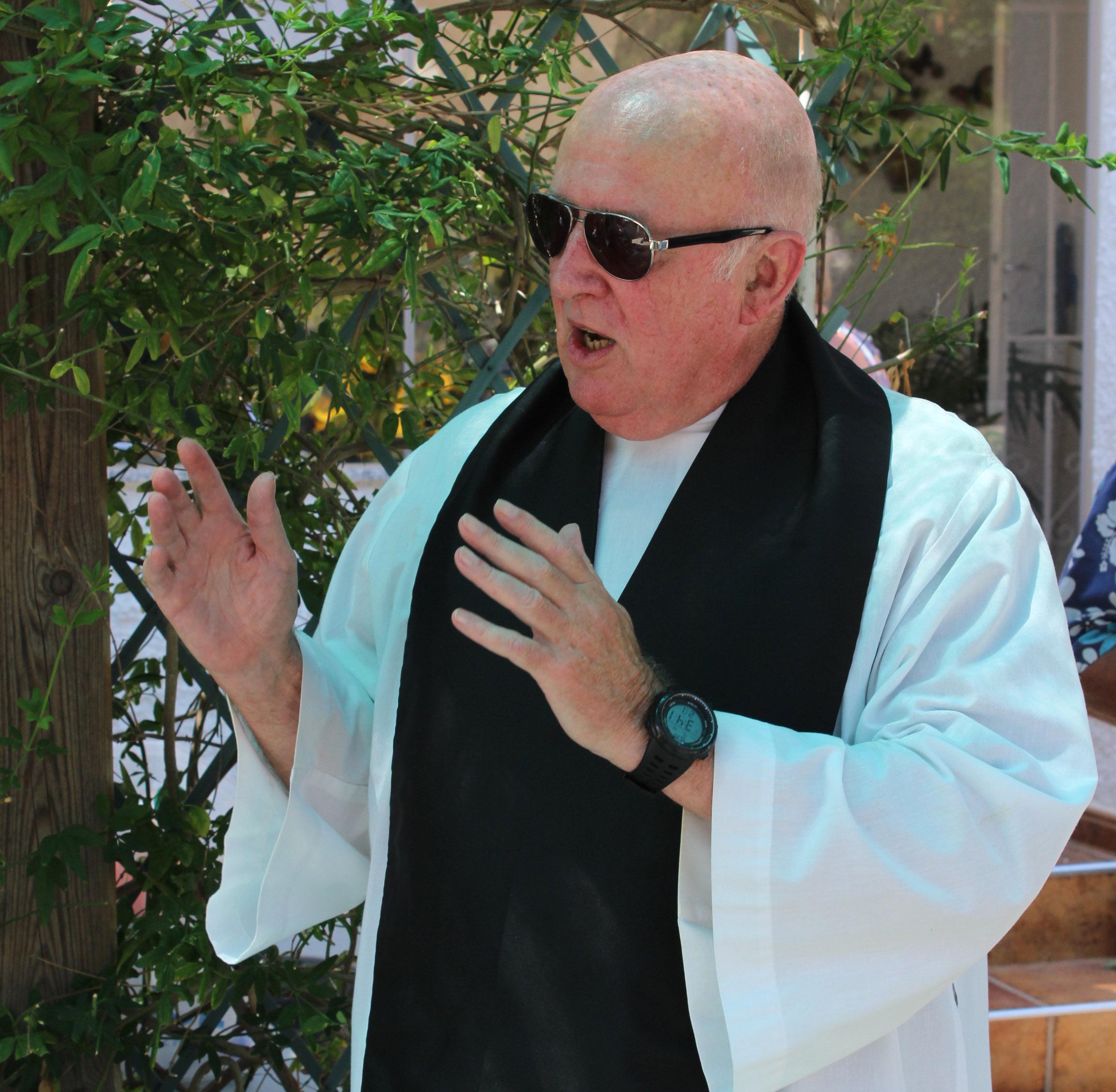 Rev Terry Baxter.