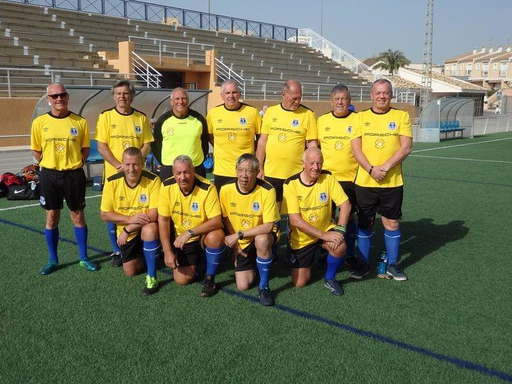 San Miguel Strollers, Walking Football Club.