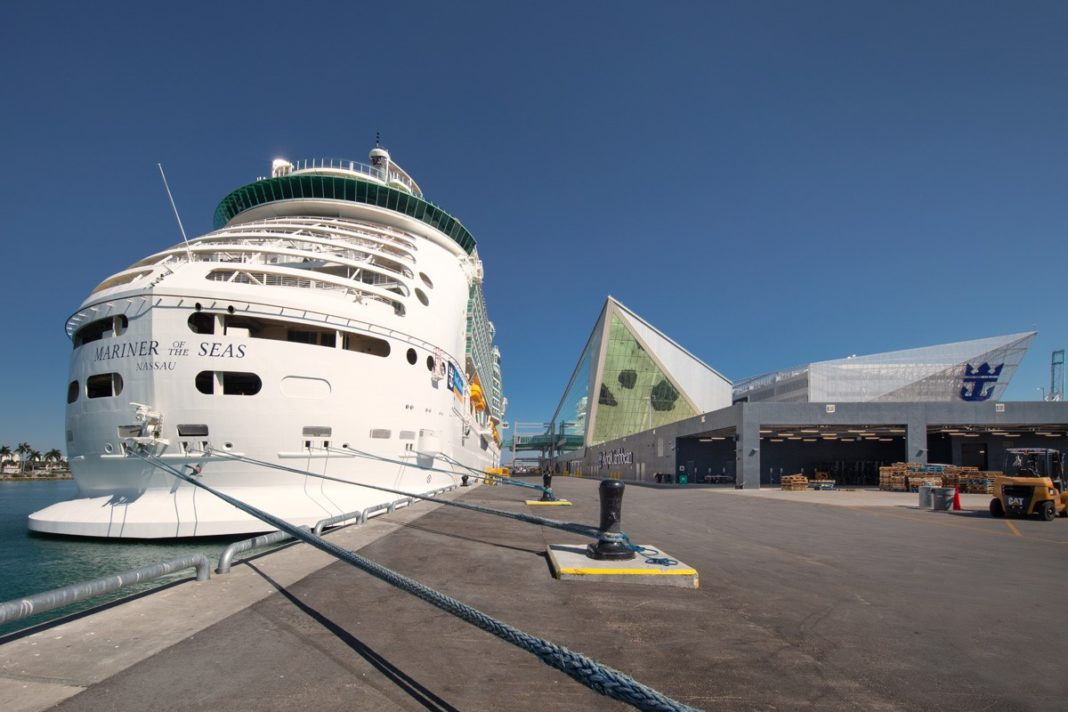 Royal Caribbean cruises' passengers check-in, amid coronavirus