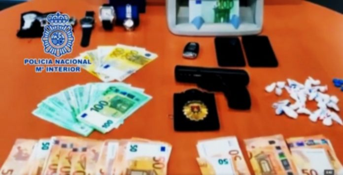Items seized during the operation