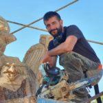 Omar Lopez transforms Rojales dead tree