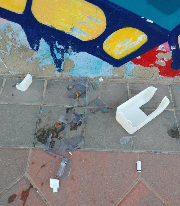 Vandalism in Los Montesinos sports areas