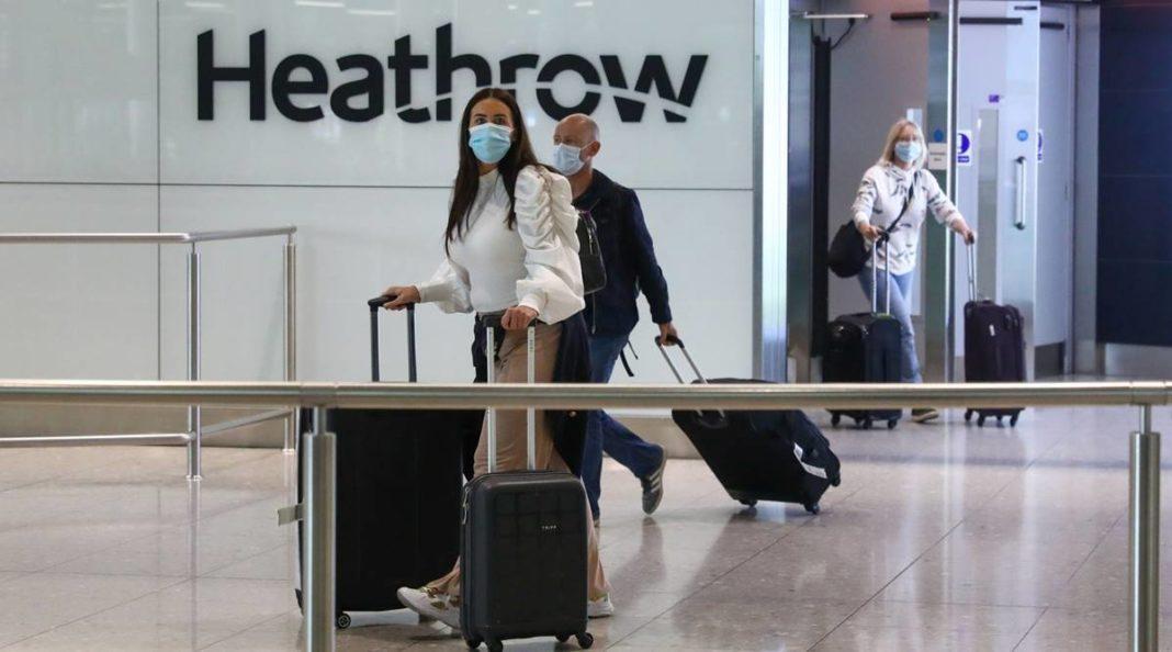Heathrow Covid Tests underway