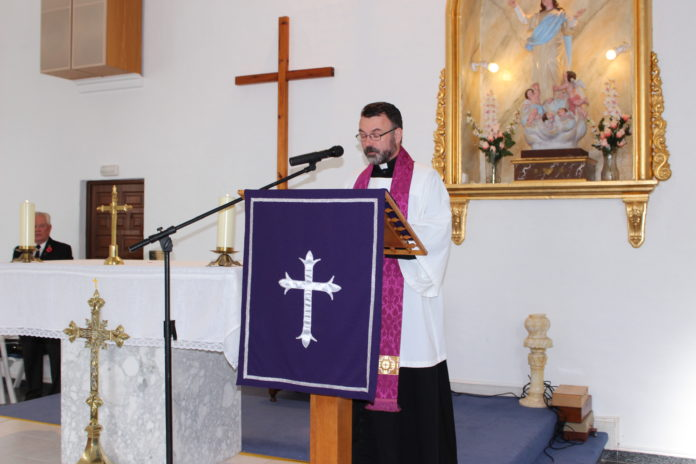 """Father Richard A. Seabrook SSC, who has been in Torrevieja since 2015, is the fourth priest to be the """"Chaplain"""""""