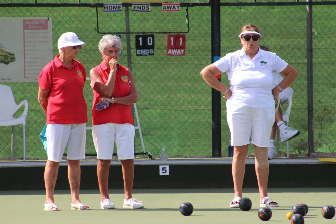 A huge congratulations to Val Hignett and Anita Brown on winning the Valencian Ladies Pairs.