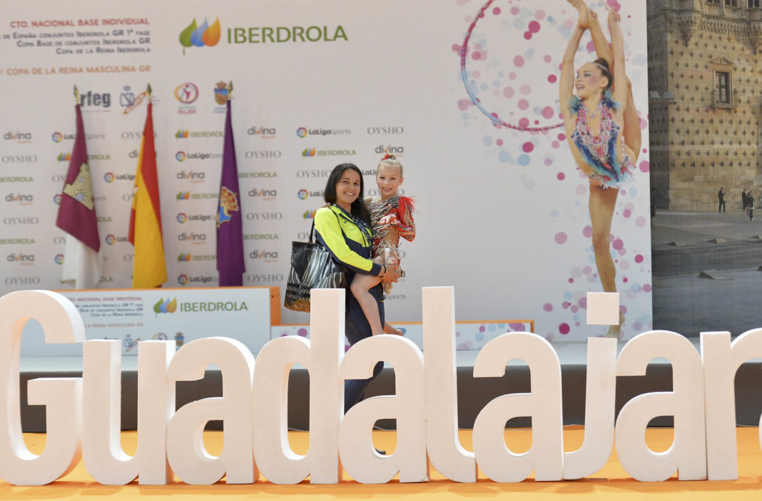Miley Martínez selected by Valencian Federation of Rhythmic Gymnastics