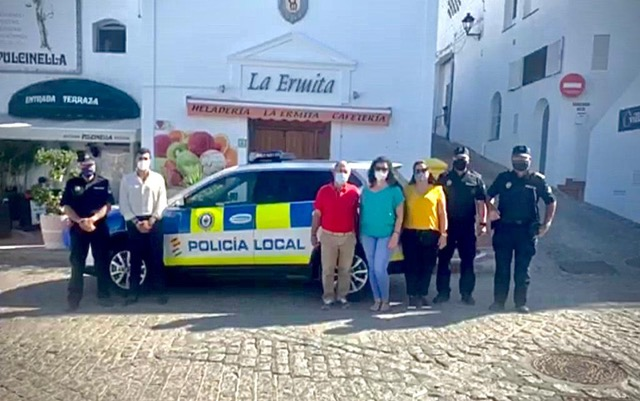 A NEW CUSTOMIZED VEHICLE FOR MOJÁCAR'S LOCAL POLICE