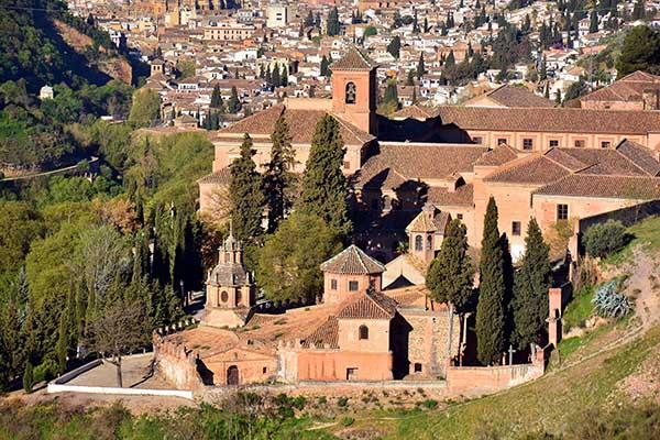 Grananda and the village of Lanjaron