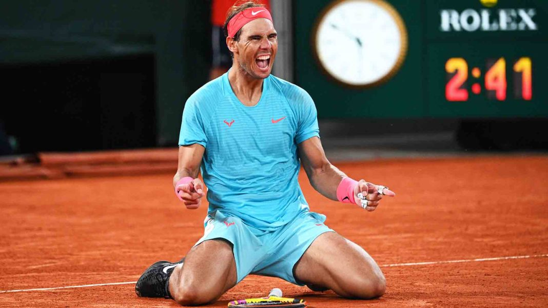 Rafael Nadal Targeting Grand Slam Outright Record In 2021 - Photo credit AP Tour via Getty Images