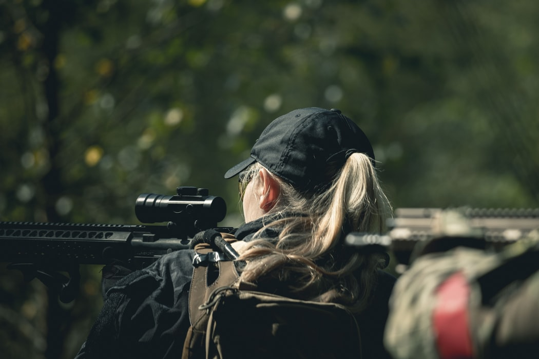 Airsoft is a rapidly gowing sport among both men and women