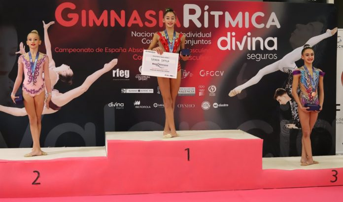 Four Medals for Torrevieja Rhythmic Gymnasts