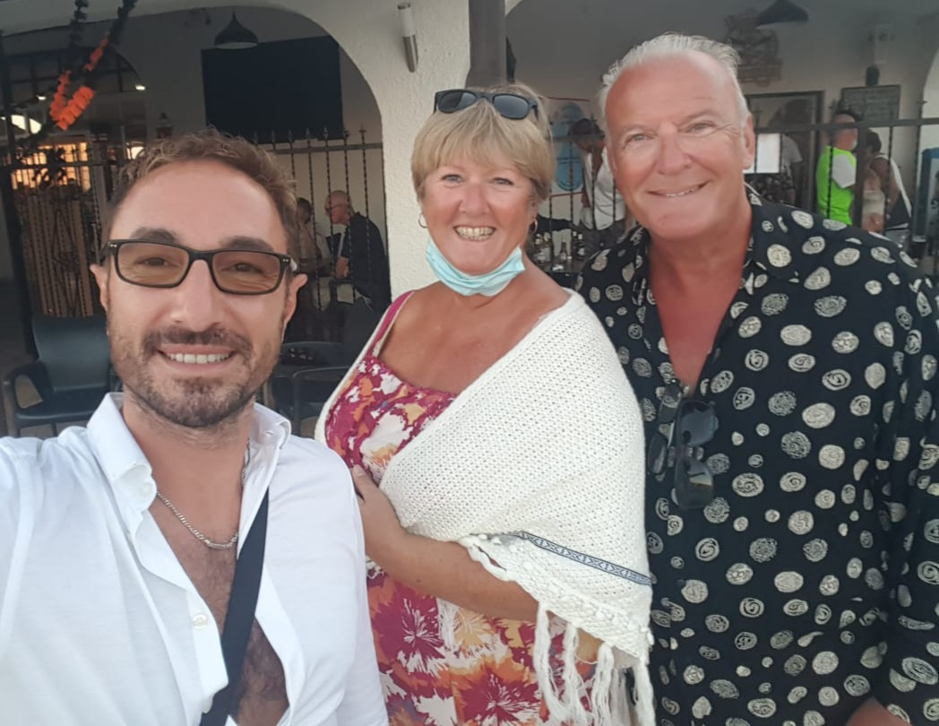 Punta Prima Strictly Come Dancing star Vincent Simone COVID-19 charity help