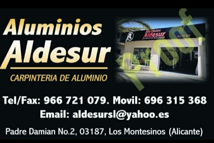 Aluminios Aldesur