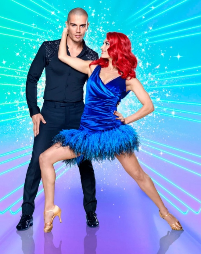 Max George and Dianne Buswell