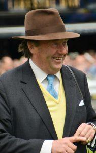 Nicky Henderson: Saddles Wraysford 3.50 Ascot.