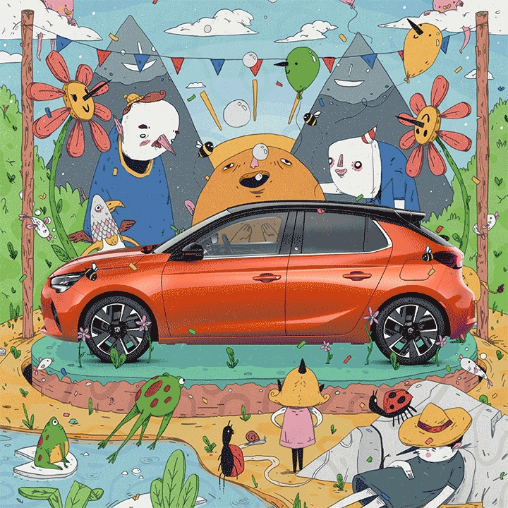UK illustrators come together to broaden appeal of electric vehicles