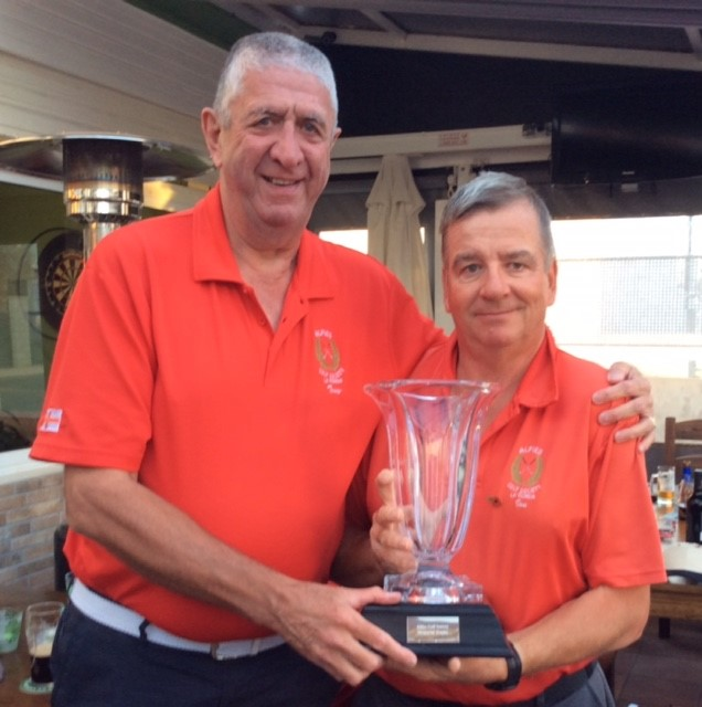 Gold Division and Overall Winner Ian Ingledew with 33 points