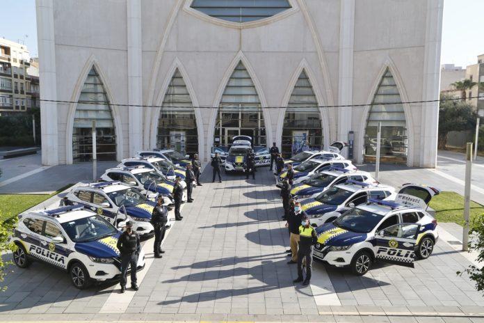 LA POLICÍA LOCAL CUENTA CON 16 NUEVOS VEHÍCULOS DE ÚLTIMA GENERACIÓN 2