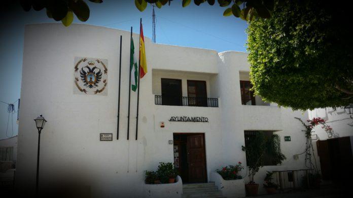 Mojacar Town Hall: MOJÁCAR VOTES FOR A NEW TOWN FLAG