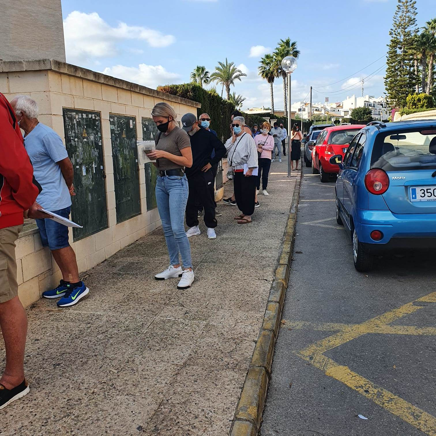 New low for Orihuela Costa Postal Service