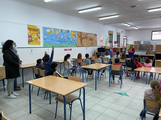 Theatre Workshop for Bartolomé Flores School.