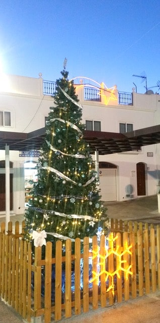 Mojácar lights up the town for Christmas