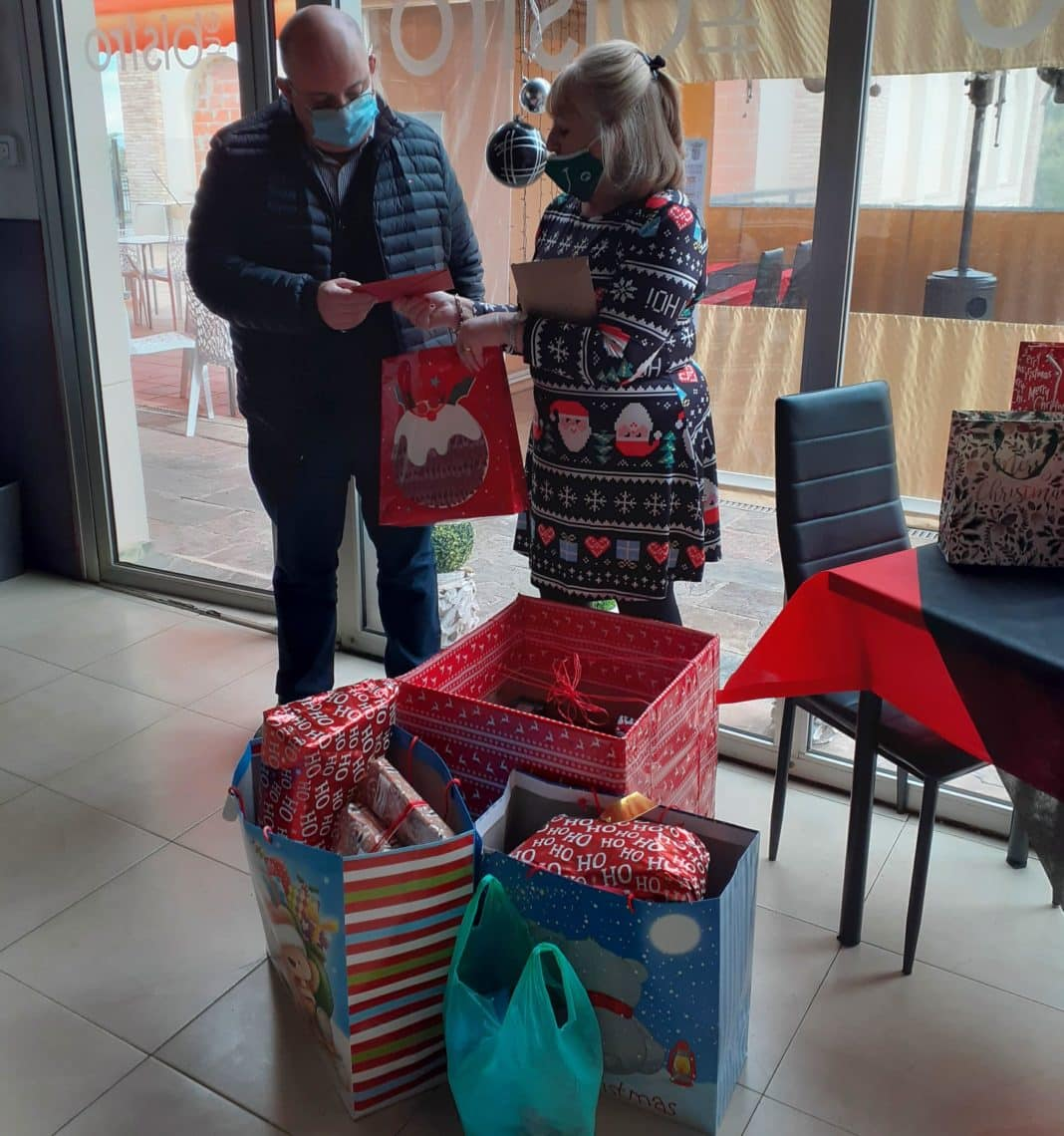 We raised over €1200 which was spent on an individual gift for each if the 54 children