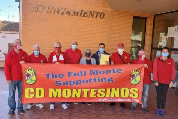 The Full Monte SC: Thanked by Mayor Butron at the Ayuntamiento de Los Montesinos.