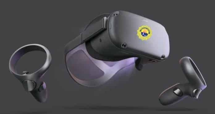 Police Local Los Montesinos virtual reality headset