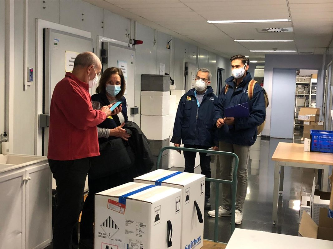 Valencian Community receives first large shipment of vaccine