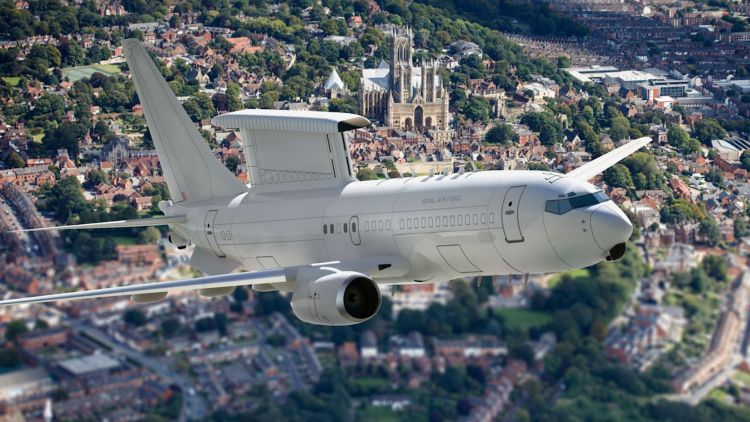 E-7 Wedgetail aircraft are expected to replace the RAF's E-3D Sentry fleet in 2023 (Picture: RAF).