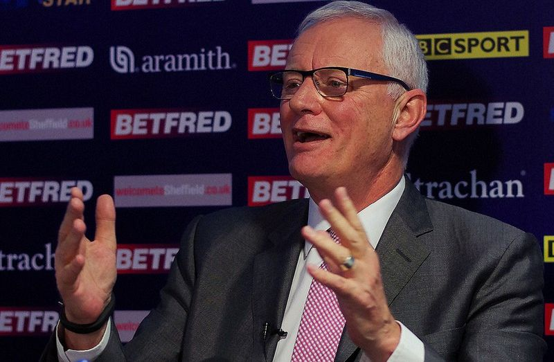 World Snooker Chief Barry Hearn