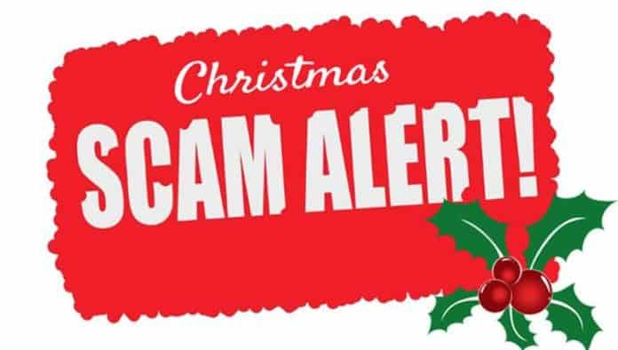 Christmas collection scam
