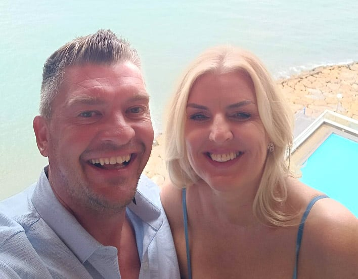 Paul and Sue Mainwaring on flight scare from East Midlands airport to Alicante.