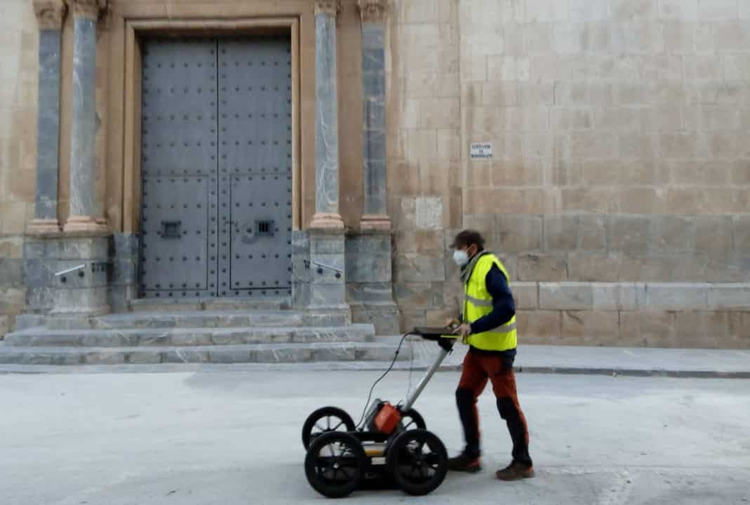Geophysical survey to locate Orihuela's medieval wall