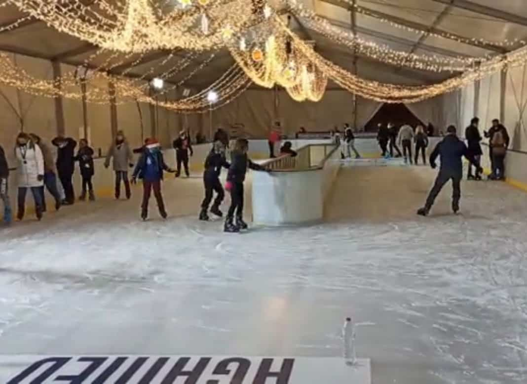 Torrevieja ice rink open till 10 January